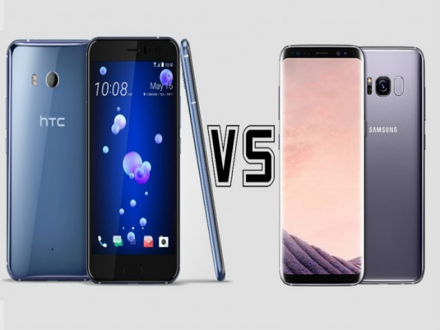 HTC U11 vs Samsung Galaxy S8: Design